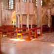 Interior of the St. Euphemia Basilica, Grado — Stock Photo
