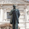 Monument dedicated to Alessandro Manzoni, Milan - Stock Photo