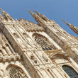 Duomo di Milano - Milan cathedral - Stock Photo