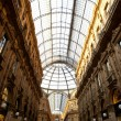 Gallery Vittorio Emanuele II, Milan — Stock Photo