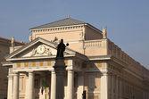 Stock exchange building, Trieste — Stock Photo