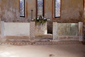 Altar of the Baptistery, Grado — Stock Photo
