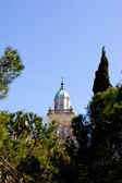Marian Shrine on the island of Barbana - Grado — Foto Stock