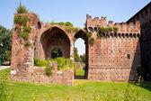 Sforzesco castle, Milan — Stock Photo