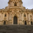 St. Peter cathedral, Modica - Stock Photo