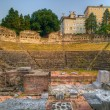 Roman Theater in Trieste — Stock Photo