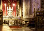 Altar of Palermo Church — Stock Photo