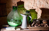 Iron pitcher — Stock Photo