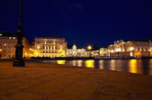 Piazza unità d'Italia,Trieste — Stock Photo