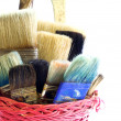 Bristle brush — Stock Photo