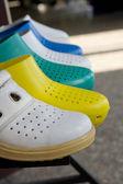 Barevné pantofle — Stock fotografie