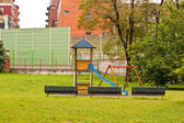 Empty playground — Stock Photo