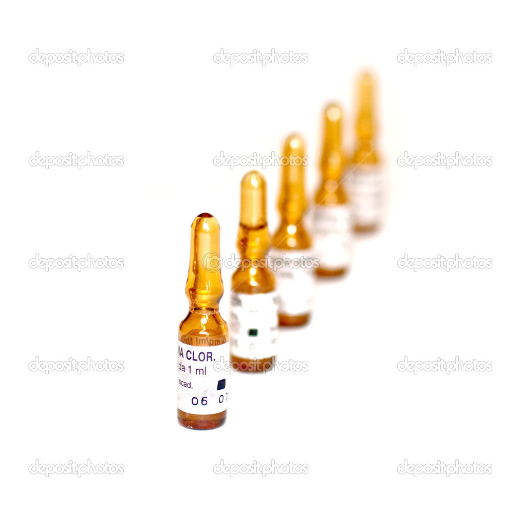 Ampoules — Stock Photo #7679282