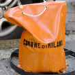 Bag with ballast — Stock Photo