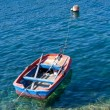 boat on the fiscardo sea — Stock Photo