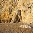 Rock next to the Platia amos beach, Kefalonia — Stock Photo