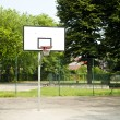 Basket playground — Stock Photo