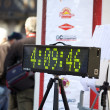 Stock Photo: Number display for Marathon