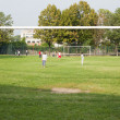 Soccer field — Stock Photo #7689699