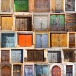 Doors set — Stock Photo #7689894