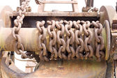 Old chain — Stock Photo
