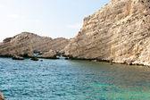 Cliff, Petani coast - Kefalonia — Stock Photo