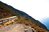 Road in the rural scene — Stock Photo