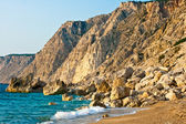 Platia Amos beach, Kefalonia — Stock Photo