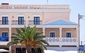 Houses of Lixouri, Greece — Stock Photo