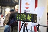 Number display for Marathon — Stock Photo