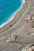 Platia Amos beach, Kefalonia - Greece — Stock Photo