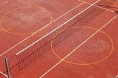 Tennis och basket lekplats — Stockfoto