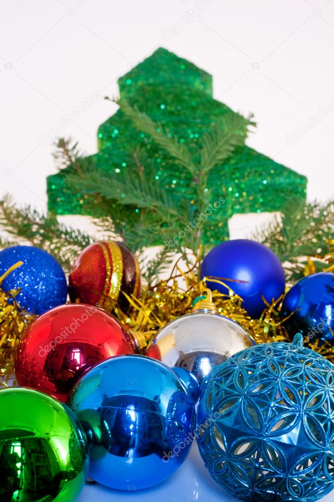 Little tree, Christmas decoration — Stock Photo #7689785