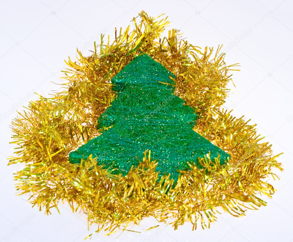 Little tree, Christmas decoration — Stock Photo #7689803