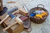 Ancient tools — Stock Photo