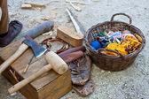 Ancient tools — Zdjęcie stockowe