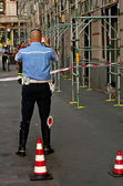 Italian police officer — Stock Photo