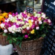 Roses in wicked baskets — Stock Photo #7737531