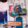 Welcome sign — Stock Photo #7737642