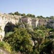 Cave, Neapolis in Syracuse - Sicily — Stock Photo