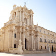Syracuse cathedral, Italy — Stock Photo