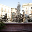 Fountain of Artemide, Ortigia - Siracusa - Stock Photo