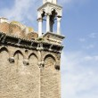 Venetian pinnacle in Venice — Stock Photo