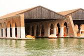 Arsenale venecia — Foto de Stock