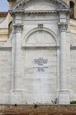Temple of Saint Lucia, Venice — Stock Photo