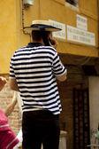 Gondolier — Foto Stock