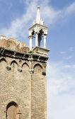 Venetian pinnacle in Venice — Stock Photo