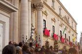 Saint Lucia procession in Ortigia — Stock Photo