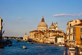 Basilica of St. Mary of Health in Venice — Stock Photo
