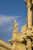 Statue of Saint Martian on Siracusa Cathedral — Stock Photo